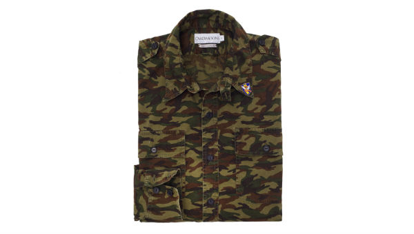 ovadia and sons flying tigers utility patch shirt