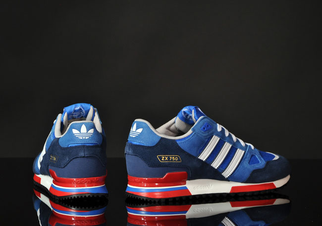 adidas zx 750 blue white red