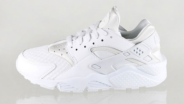 2014 05 Nike Air Huarache White Pure Platinum Nike Air Huarache All White