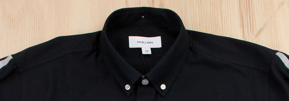 soulland Armstrong Shirt with Reflective Back