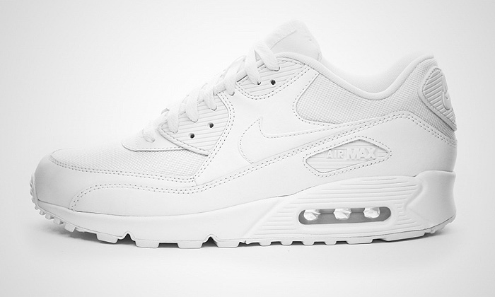 air max 90 all white