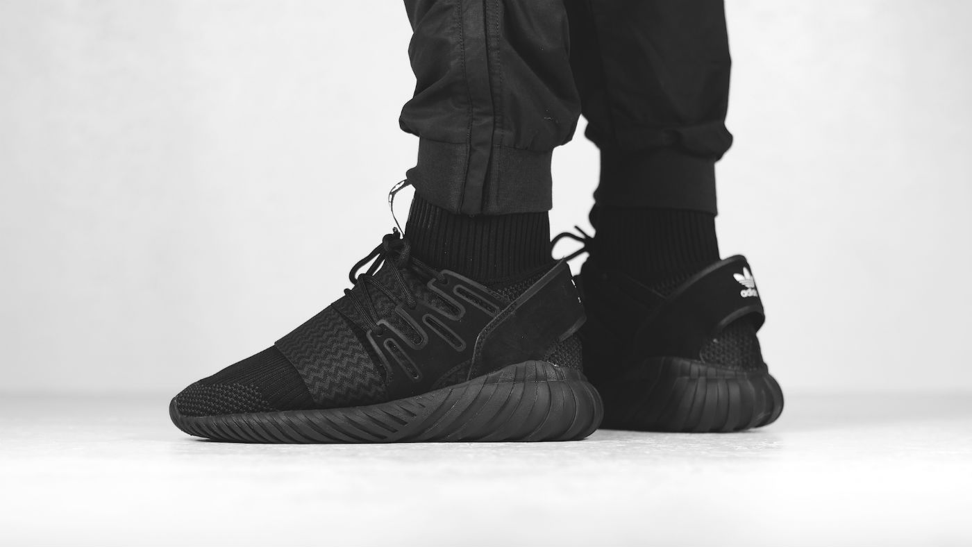 Adidas Tubular Doom 'Triple Black' Core Black nmd boost S74794